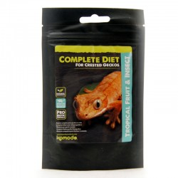 Pokarm 60g Gekon Orzęsiony Repashy 3.2 Pangea Komodo Crested Gecko Complete Diet - Tropical Friut & Insect owoce i nektary