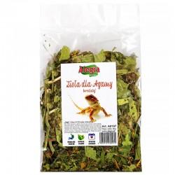 Pokarm zioła z larwą mącznika Alegia 1300ml dla  Agamy Brodatej