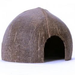 Kryjówka kokos Jaszczczurka Pająk Gekon Terrarium Terrario CocoLair