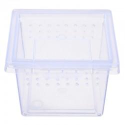 Pojemnik Terrarium Hodowla Pająk Owady Karmówka Terrario Insect Box Mini - plastikowe terrarium 6,5x6,5x4,5cm