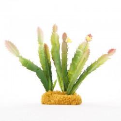 Kaktus roślina Pustynna Terrarium Agama Gekon Żółw Yusee Roślina - Kaktus Wysoki 12x10x18