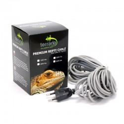 kabel grzewczy 80W/10,5m Gady Płazy ogrzewanie Terrarium Inkubatora Hodowla Karmówki - Terrario Premium Repti Cable 80W