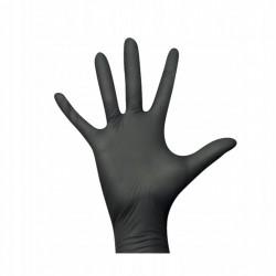 Rękawice ochronne nitrylowe czarne 2szt. - do zastosowania w terrarystyce jak i akwarystyce | Tropical Terra™