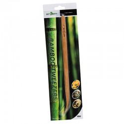 Pęseta bambusowa zagięta 28cm Pinceta terrarystyczna do terrarium i akwarium Repti-Zoo