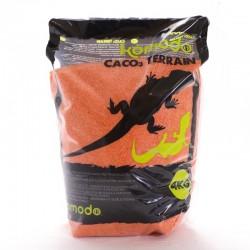 Jadalny piasek dla gadów 4kg Orange - Komodo CaCo3 Sand | Tropical Terra™