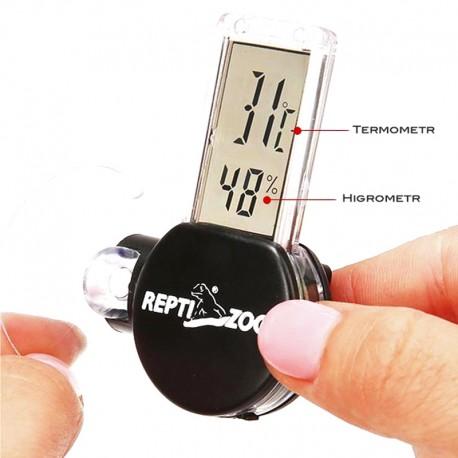 Termometr i higrometr elektroniczny LCD IPX4 Repti-Zoo