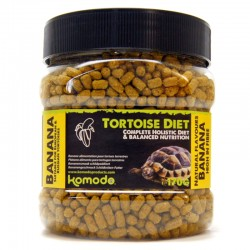 Komodo Tortoise Diet Banana 170g - pokarm dla żółwi