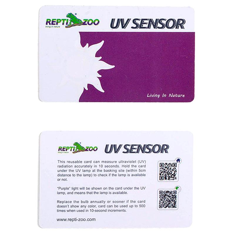 Repti-Zoo Karta do pomiaru promieniowania UV/UVB