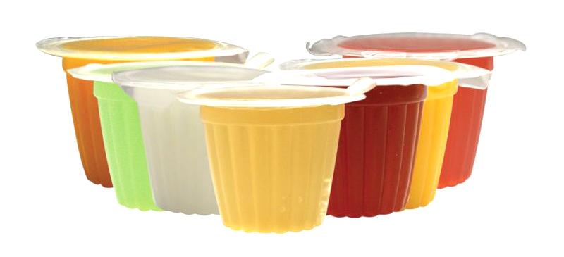 Komodo Jelly Pot dostępne smaki - pokarm w żelu o wielu smakach